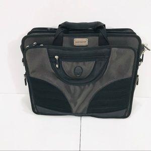 Alienware Black Heavy Duty Multi Pocket Laptop Bag